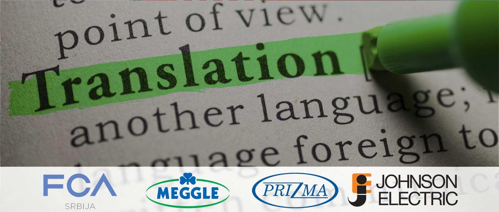 Profesionalne usluge prevođenja za kompanije i pojedince